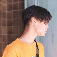 モテ髪 メンズ ショート ナチュラル ヘアスタイルや髪型の写真・画像