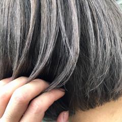 ショート バレイヤージュ ショートヘア 外国人風カラー ヘアスタイルや髪型の写真・画像