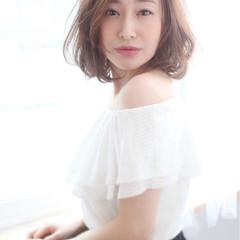 パーマ 小顔 大人女子 大人かわいい ヘアスタイルや髪型の写真・画像