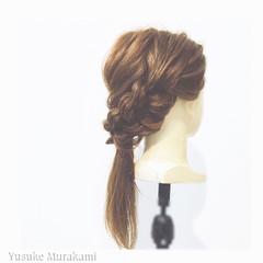 大人かわいい ロング ショート ハーフアップ ヘアスタイルや髪型の写真・画像