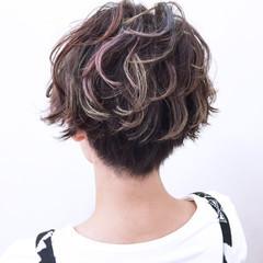 小顔 ニュアンス こなれ感 ストリート ヘアスタイルや髪型の写真・画像
