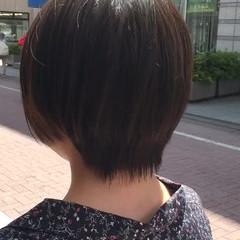 ピュア ナチュラル 透明感 ショート ヘアスタイルや髪型の写真・画像