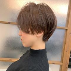 大人可愛い ハンサムショート ショートヘア ショート ヘアスタイルや髪型の写真・画像