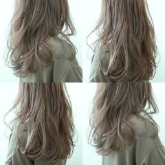 グレージュ 外国人風カラー イルミナカラー ハイトーン ヘアスタイルや髪型の写真・画像
