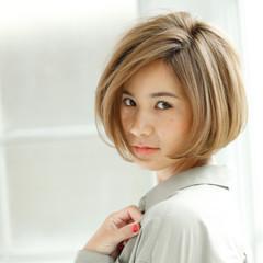 こなれ感 ボブ 大人女子 外国人風 ヘアスタイルや髪型の写真・画像