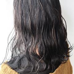 大人女子 ナチュラル ゆるふわ ハイライト ヘアスタイルや髪型の写真・画像