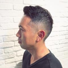 フェードカット ストリート メンズ メンズショート ヘアスタイルや髪型の写真・画像