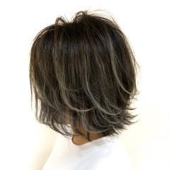 ナチュラル 外国人風 透明感 ショート ヘアスタイルや髪型の写真・画像