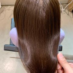 ナチュラル 最新トリートメント ロング ツヤ髪 ヘアスタイルや髪型の写真・画像
