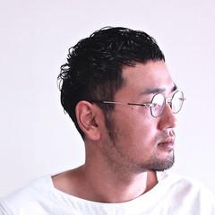 メンズ メンズカット メンズヘア ナチュラル ヘアスタイルや髪型の写真・画像