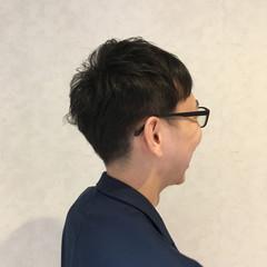 メンズ ナチュラル ショート ボーイッシュ ヘアスタイルや髪型の写真・画像