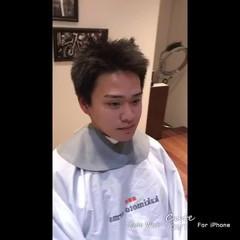 メンズヘア 刈り上げ メンズ ベリーショート ヘアスタイルや髪型の写真・画像