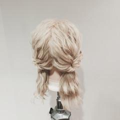 ヘアアレンジ ショート ゆるふわ ウェーブ ヘアスタイルや髪型の写真・画像