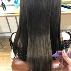 髪質改善カラー 髪質改善トリートメント ナチュラル トリートメント ヘアスタイルや髪型の写真・画像