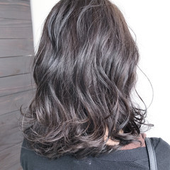 透明感 外国人風カラー 冬 ウェットヘア ヘアスタイルや髪型の写真・画像