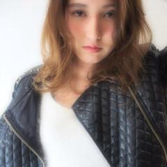 ハイライト ストリート 外国人風 ミディアム ヘアスタイルや髪型の写真・画像