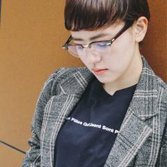 モード 秋 大人かわいい ストレート ヘアスタイルや髪型の写真・画像