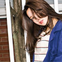 ゆるふわ 大人かわいい ストリート 外国人風 ヘアスタイルや髪型の写真・画像