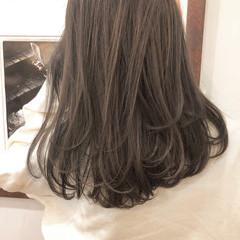 ブラウン ナチュラル ミディアム ハイライト ヘアスタイルや髪型の写真・画像