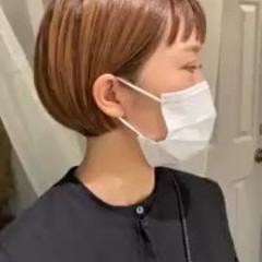 ストリート 外国人風カラー ショート 前髪あり ヘアスタイルや髪型の写真・画像