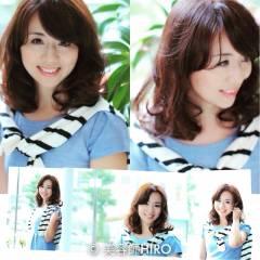 大人女子 透明感 大人かわいい コンサバ ヘアスタイルや髪型の写真・画像