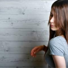 ロング かっこいい モード ナチュラル ヘアスタイルや髪型の写真・画像