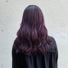 ガーリー セミロング ブリーチ必須 ブリーチカラー ヘアスタイルや髪型の写真・画像