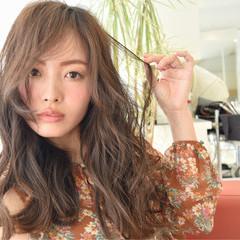 フェミニン 大人女子 アッシュ ガーリー ヘアスタイルや髪型の写真・画像