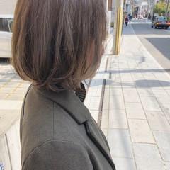アッシュ ボブ モード 外国人風 ヘアスタイルや髪型の写真・画像