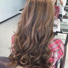 ハイライト ロング ストリート ローライト ヘアスタイルや髪型の写真・画像