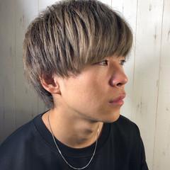 メンズヘア メンズカラー ナチュラル メンズマッシュ ヘアスタイルや髪型の写真・画像