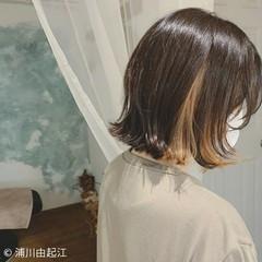 ボブ 黒髪 外ハネ モード ヘアスタイルや髪型の写真・画像