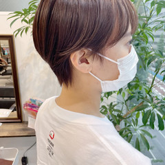 ベリーショート 大人ショート ショートヘア マッシュショート ヘアスタイルや髪型の写真・画像