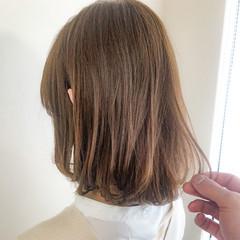 大人女子 ミディアム ナチュラル 大人かわいい ヘアスタイルや髪型の写真・画像