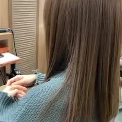 ナチュラル セミロング 髪質改善トリートメント ヘアスタイルや髪型の写真・画像