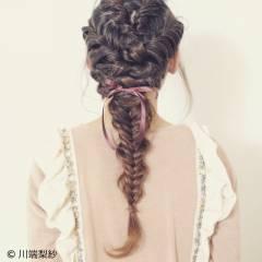 ショート フェミニン ロング ゆるふわ ヘアスタイルや髪型の写真・画像