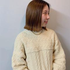 ストリート ファッション 秋冬スタイル ボブ ヘアスタイルや髪型の写真・画像