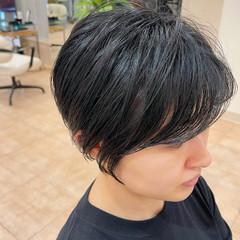 ベリーショート ショート ナチュラル 小顔ショート ヘアスタイルや髪型の写真・画像