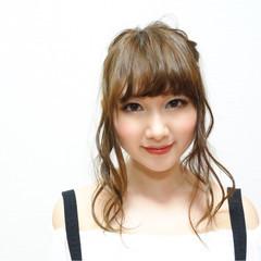 外国人風 アッシュ ヘアアレンジ 簡単ヘアアレンジ ヘアスタイルや髪型の写真・画像