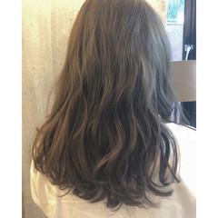 前髪あり おフェロ 透明感 ナチュラル ヘアスタイルや髪型の写真・画像