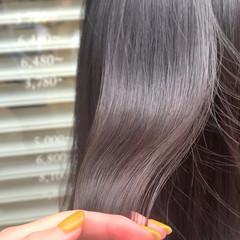 ツヤ髪 ロング 黒髪 ナチュラル ヘアスタイルや髪型の写真・画像