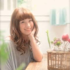 大人かわいい モテ髪 フェミニン 卵型 ヘアスタイルや髪型の写真・画像