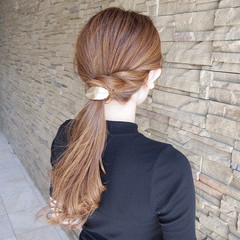 ヘアアレンジ ナチュラル デート リラックス ヘアスタイルや髪型の写真・画像