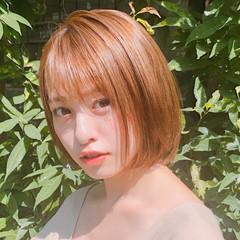 ボブ アンニュイほつれヘア ミニボブ 大人かわいい ヘアスタイルや髪型の写真・画像