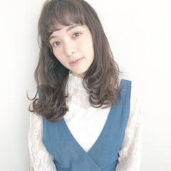 ロングヘア パーマ デジタルパーマ 毛先パーマ ヘアスタイルや髪型の写真・画像