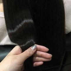 オフィス ナチュラル ロング 艶髪 ヘアスタイルや髪型の写真・画像