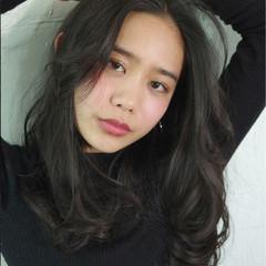 ノームコア ナチュラル 黒髪 似合わせ ヘアスタイルや髪型の写真・画像