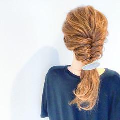 エレガント 外国人風 ロング ヘアアレンジ ヘアスタイルや髪型の写真・画像