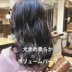 パーマ ナチュラル アンニュイほつれヘア デジタルパーマ ヘアスタイルや髪型の写真・画像
