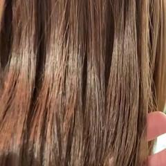 髪質改善 ナチュラル サラサラ 髪質改善トリートメント ヘアスタイルや髪型の写真・画像